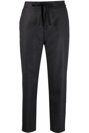 PT01 Women Trousers - Cropped wool trousers