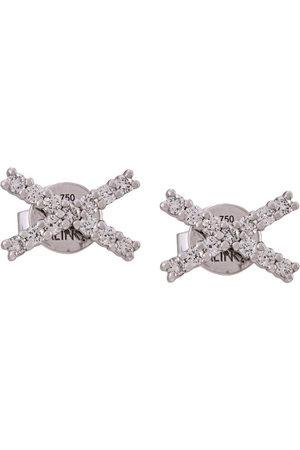 ALINKA Women Earrings - 18kt gold KATIA diamond stud earring - Metallic