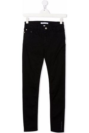 Calvin Klein Kids Mid-rise skinny jeans