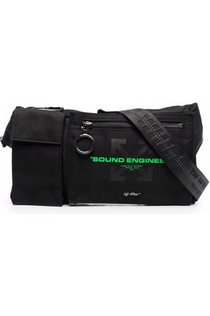 OFF-WHITE X PIONEER Arrows-motif belt bag
