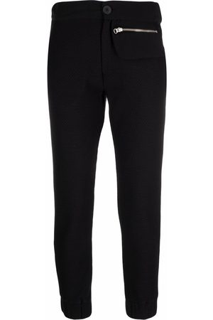 Thom Krom Cropped slim-fit trousers