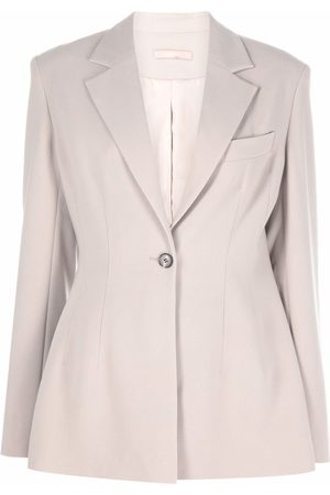 12 STOREEZ Fitted single-breasted blazer