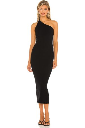 ENZA COSTA Recycled One Shoulder Maxi Dress in . Size M, S, XS.
