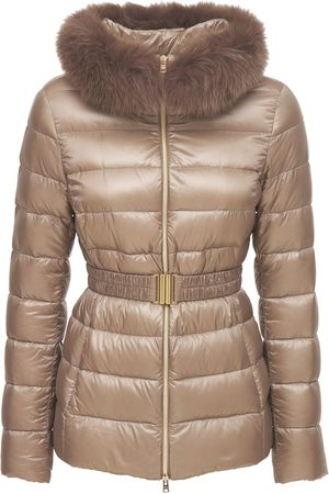 HERNO Claudia Iconic Down Jacket W/ Fur