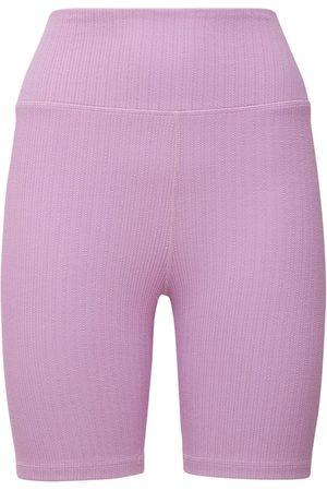 The Upside Lilac Jaquard Dance Midi Pants
