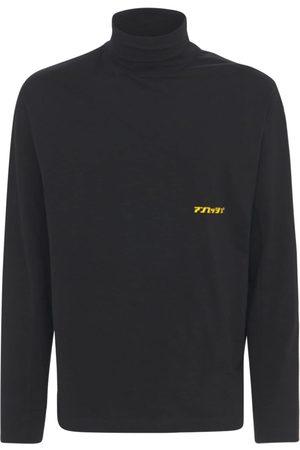 AMBUSH Men Turtlenecks - Logo Cotton Jersey Turtleneck T-shirt