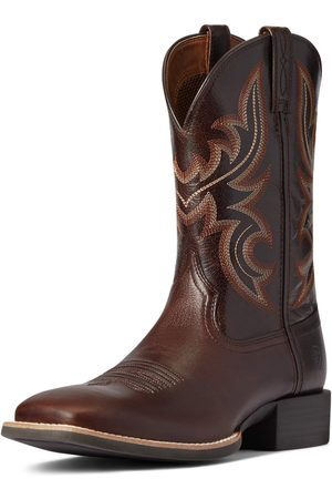 Ariat Men's Sport Cow Country Western Boots in Cusco Leather