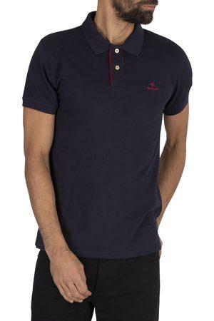 GANT Contrast Collar Pique Polo Shirt