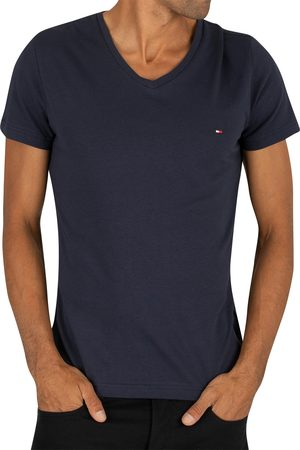 Tommy Hilfiger Core Stretch Slim V-Neck T-Shirt