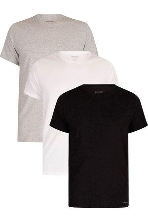 Calvin Klein 3 Pack Lounge Crew T-Shirts
