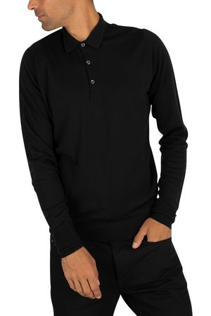 JOHN SMEDLEY Cotswold Longsleeved Polo Shirt
