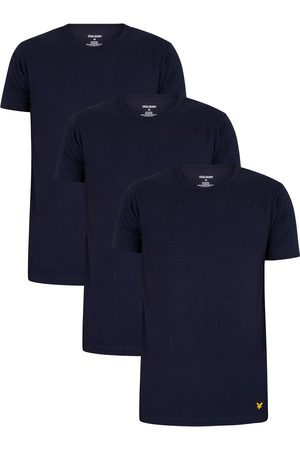 Lyle & Scott Maxwell Lounge 3 Pack Crew T-Shirts