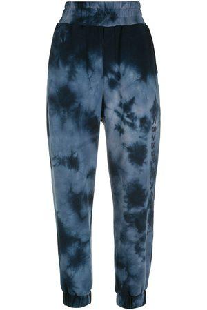 Andrea Bogosian Women Trousers - Tie-dye high-waisted trousers