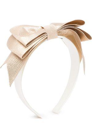 Hucklebones London Present Bow glitter Hairband
