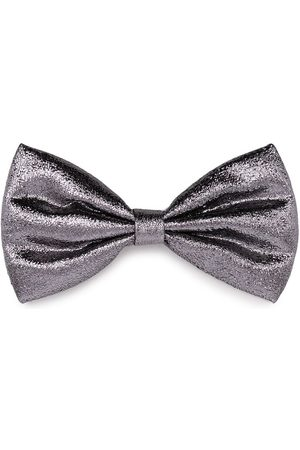 HUCKLEBONES LONDON Metallic-finish bow hairlip
