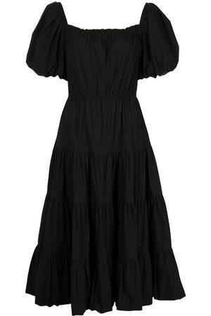 Jason Wu Tiered short-sleeve midi dress