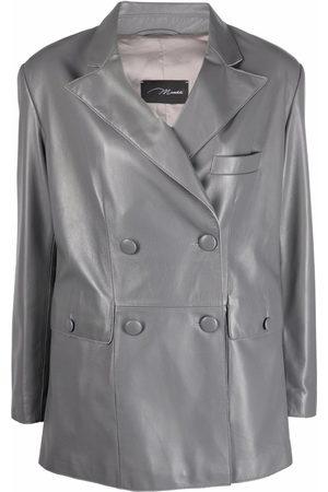 Manokhi Double-breasted tailored blazer