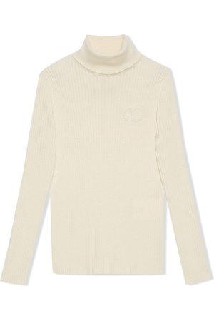 Gucci GG wool turtleneck jumper - Neutrals