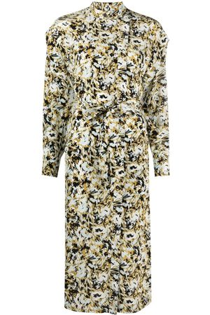 Equipment Ondine abstract floral-print dress