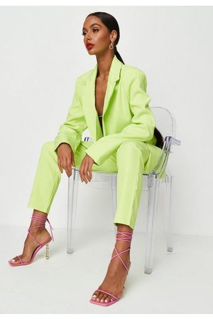 Missguided Neon Co Ord Cigarette Trousers
