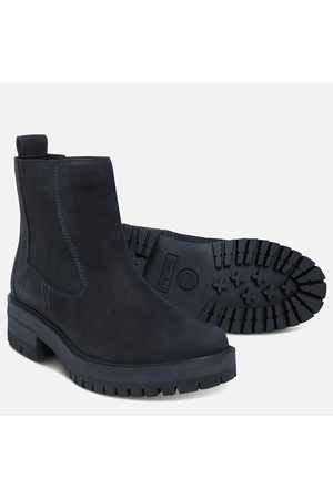 Timberland Women Ankle Boots - Women's Courmayeur Valley Leather Chelsea Boots