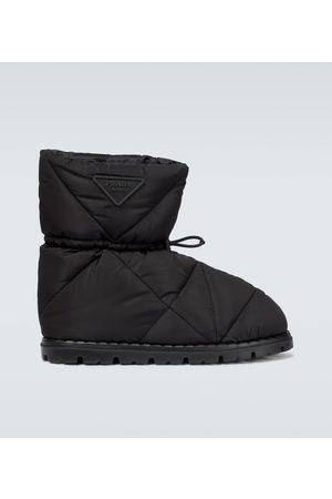 Prada Padded nylon boots