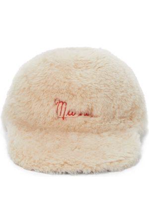 Marni Women Hats - Shearling baseball cap