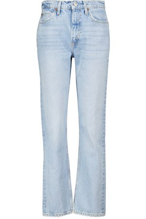 RE/DONE 70s Stove Pipe slim high-rise jeans