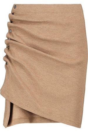 Paco rabanne Women Mini Skirts - Stretch-jersey miniskirt