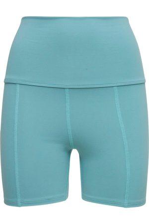 LIVE THE PROCESS Women Shorts - Geometric Seamless High Waist Shorts