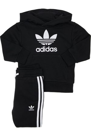 ADIDAS ORIGINALS Girls Sports Trousers - Cotton Blend Sweatshirt & Sweatpants