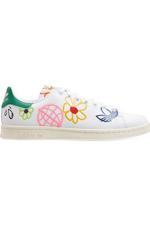 adidas Embroidered Stan Smith Sneakers