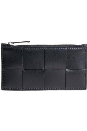Bottega Veneta Intrecciato Leather Cardholder - Mens