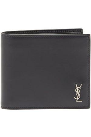 Saint Laurent Ysl-plaque Leather Bifold Wallet - Mens