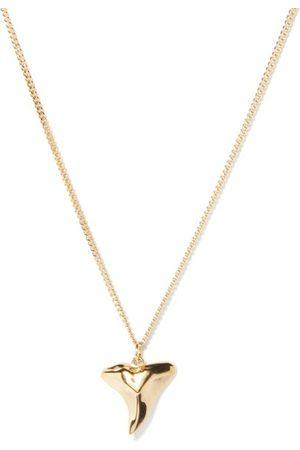 Miansai Shark Tooth 14kt -vermeil Necklace - Mens