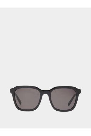 Saint Laurent Square Acetate Sunglasses - Mens