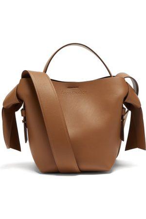 Acne Studios Musubi Small Leather Cross-body Bag - Womens - Tan