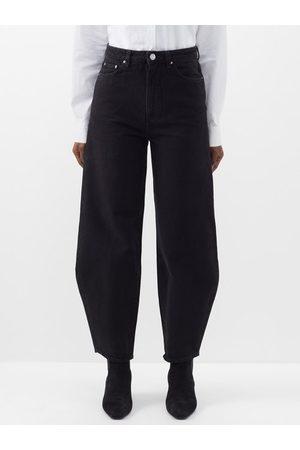 Totême Women Trousers - High-rise Barrel-leg Jeans - Womens
