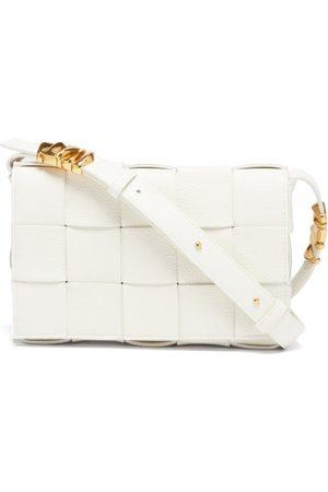 Bottega Veneta Cassette Intrecciato-leather Cross-body Bag - Womens