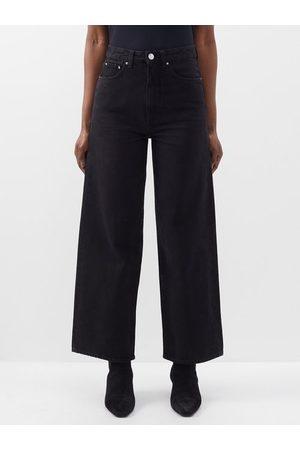 Totême High-rise Cropped Wide-leg Jeans - Womens