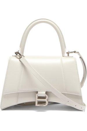 Balenciaga Hourglass Small Grained-leather Bag - Womens