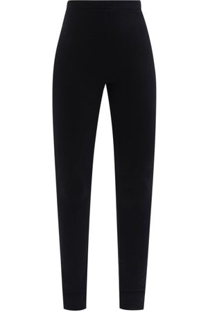 Totême Zipped-cuff Jersey Leggings - Womens