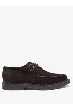 Saint Laurent Anthony Suede Derby Shoes - Mens