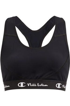 Nili Lotan x Champion Logo-jacquard Stretch-jersey Low-impact Sports Bra - Womens