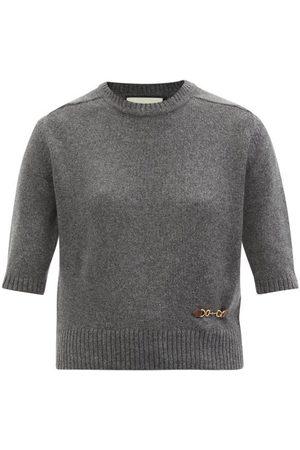 Gucci Horsebit Cashmere Sweater - Womens