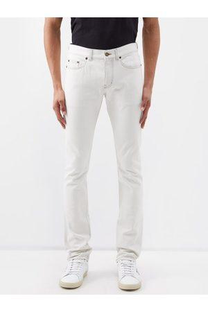 Saint Laurent Mid-rise Slim-leg Jeans - Mens