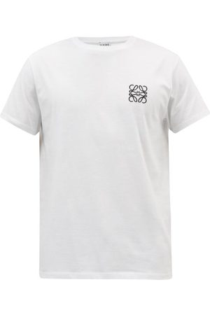 Loewe Anagram-embroidered Cotton Jersey T-shirt - Mens