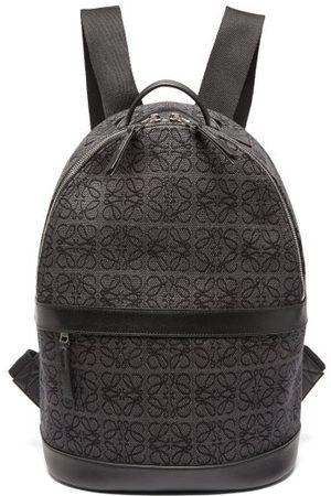 Loewe Anagram-jacquard Canvas Backpack - Mens
