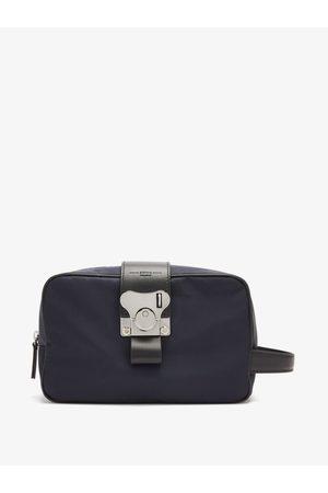 FPM Milano Men Toiletry Bags - Butterfly Leather-trim Nylon Washbag - Mens