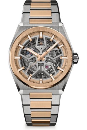 Zenith Titanium and Rose Gold Defy Classic Watch 41mm